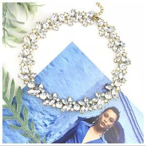 """Caroline"" Crystal Reef Statement Necklace"